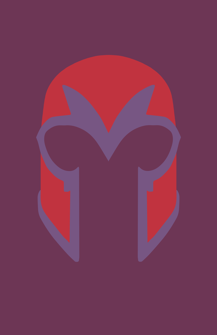 Minimalist Heroes X Men Archives