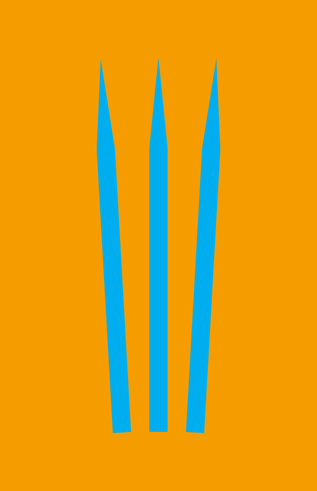 Wolverine minimalist weapon design by Minimalist Heroes.