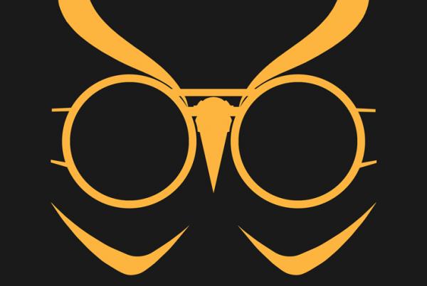 Talon minimalist mask design by Minimalist Heroes