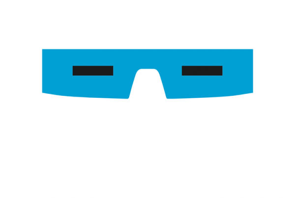 Captain Cold minimalist mask design by Minimalist Heroes.
