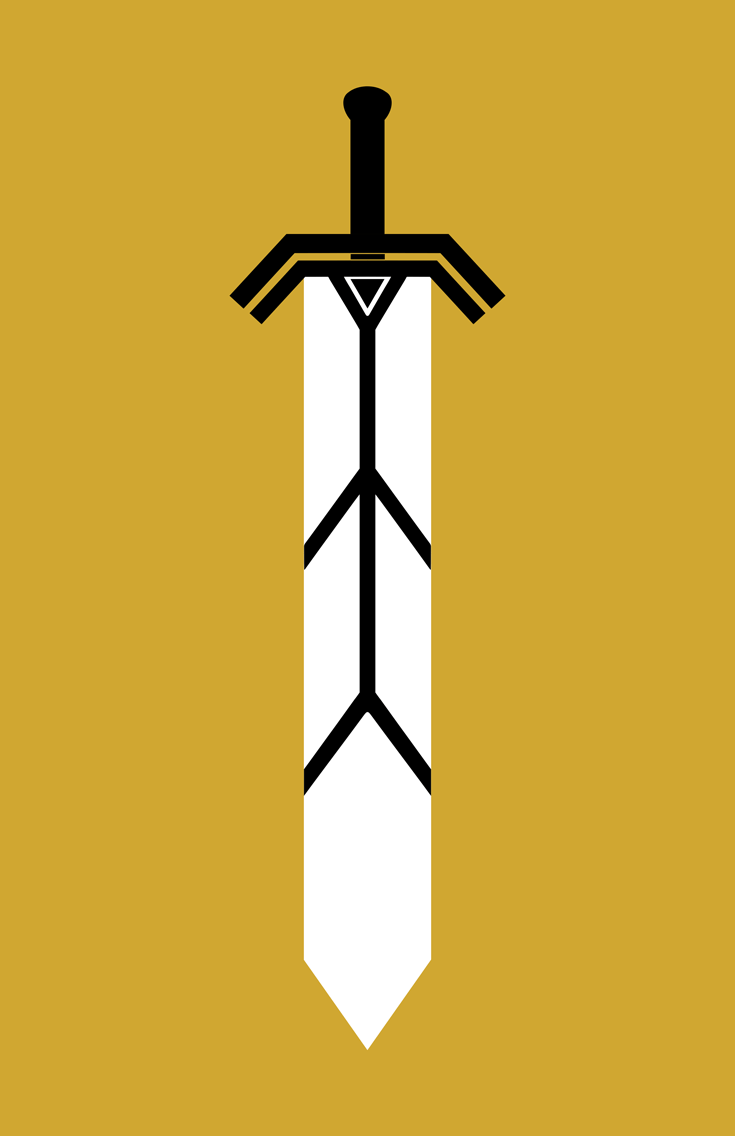 Magik minimalist weapon design by Minimalist Heroes.