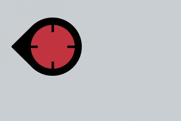 Deadshot minimalist helmet design by Minimalist Heroes