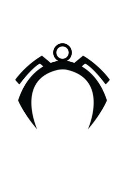Minimalist design of Marvel's Storm helmet by Minimalist Heroes