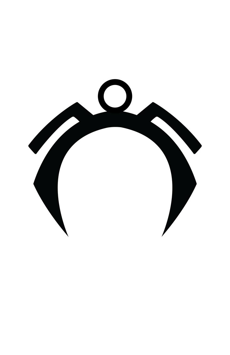 Storm minimalist helmet design by Minimalist Heroes.